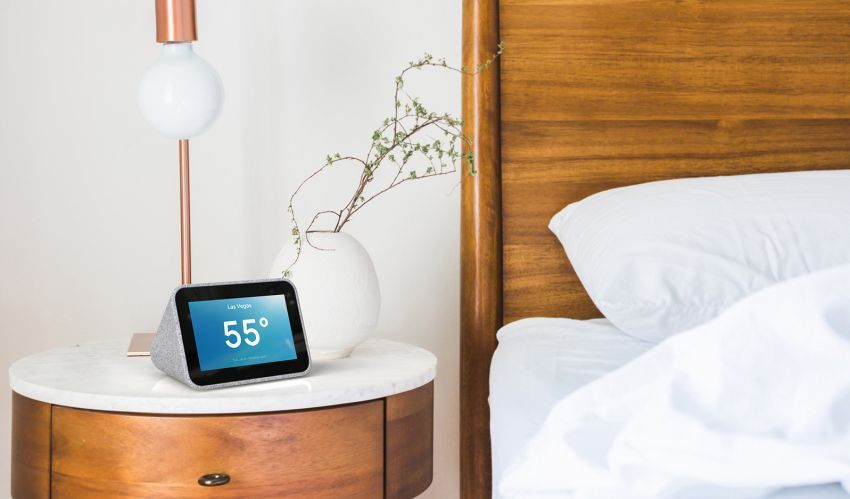 Google Assistant Powered Lenovo Smart Clock At Ces 2019 4